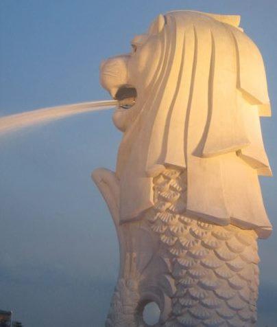 Merlion Park - Singapura