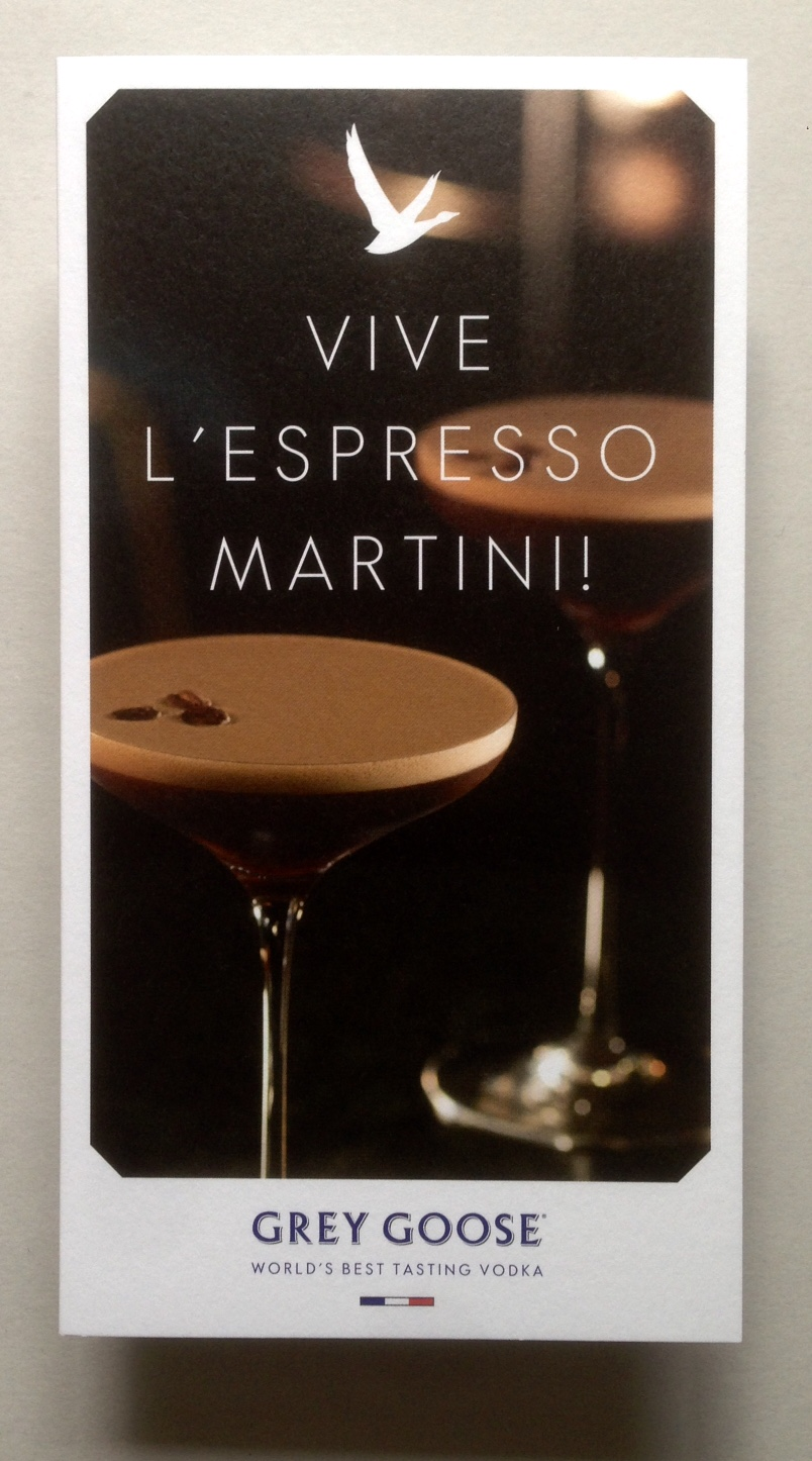 Justin S Amazing World At Fenner Paper Vive L Espresso Martini