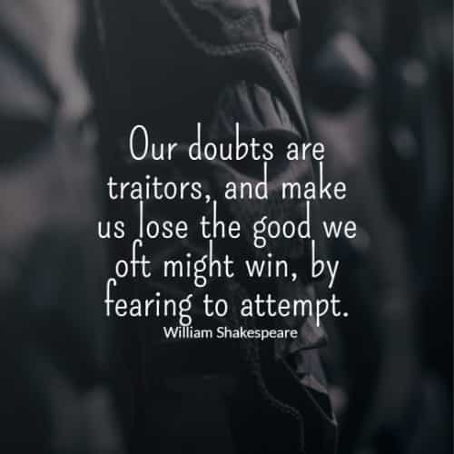 William Shakespeare quotes about life and knowledge