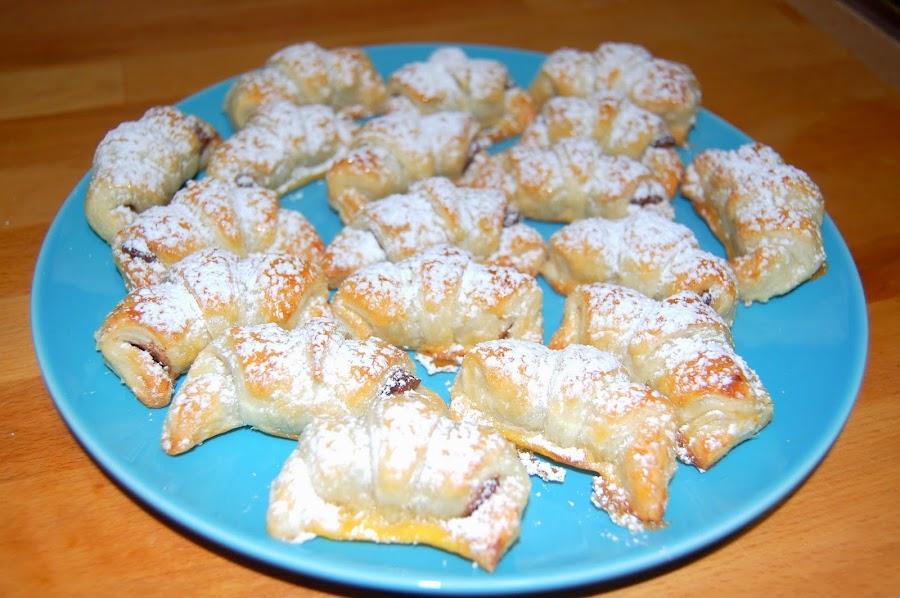 Recetas fáciles: Croissants de chocolate