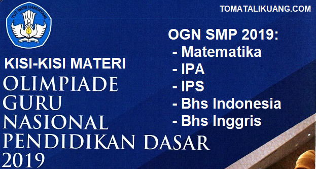 Kisi-kisi Materi OGN SMP 2019: Bahasa Indonesia