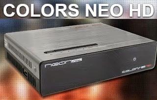 Neonsat colors neo HD atualização v.c86 de 14/07/2018