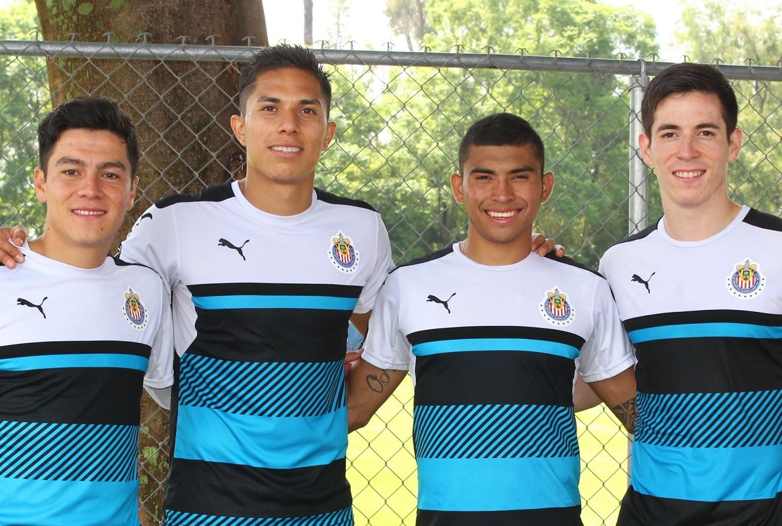 Cuatro de los seis seleccionados preolímpicos.