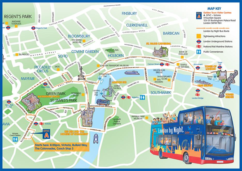 333 - How to?: London Tourists Maps