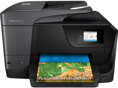 HP OfficeJet 8710  All-in-One Printer Drivers