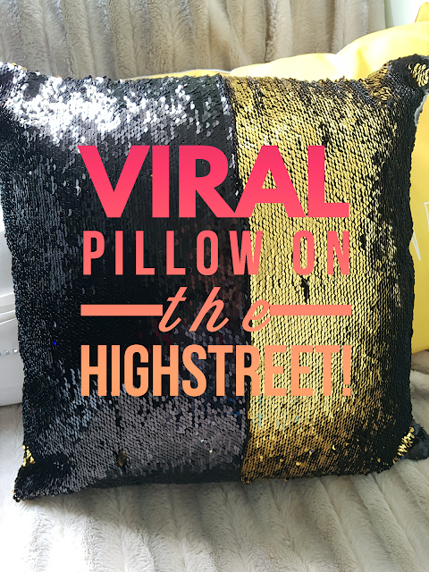 Shaws, pillow, viral, viral pillow, colour changing, amazing, Lifestyle, home decor, home, homeware, Interior, home goals, bargain,