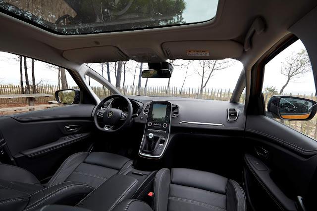 Novo Renault Scenic 2017 - interior