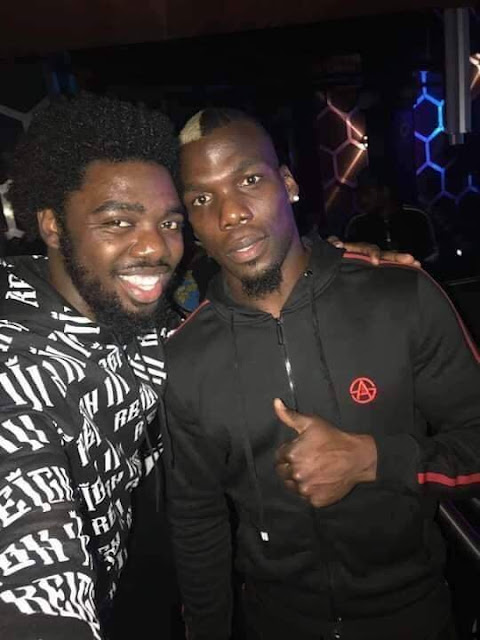 Paul Pogba's Brother Mathias Joined Shatta Wale To celebrate The  Reign Album In London