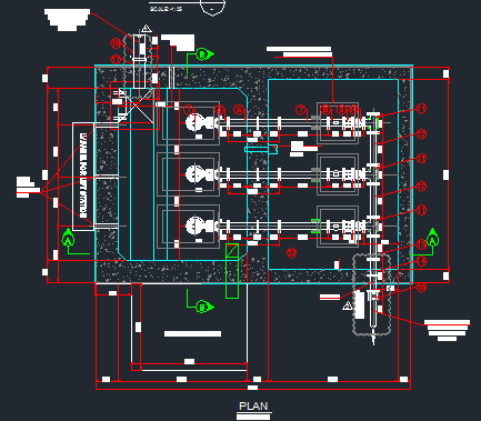 Download Wastewater Lift Station Autocad Drawings