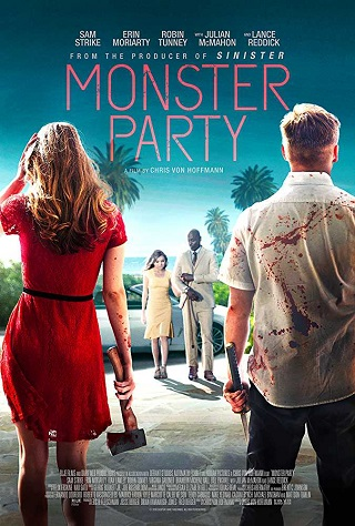 Monster Party 2018 English 700MB WEB-DL ESubs 720p