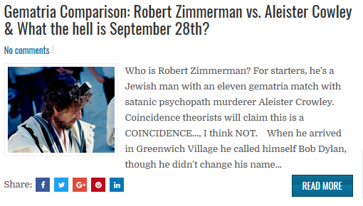 http://www.gematrianews.com/2018/09/gematria-comparison-robert-zimmerman-vs.html