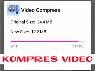 Cara Memperkecil Ukuran File Video di HP Android