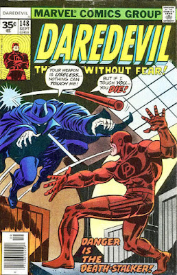 Daredevil #148, Death-Stalker is back