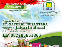 Alamat Distributor/Agen Resmi NASA Wilayah Jakarta Barat dan Sekitarnya