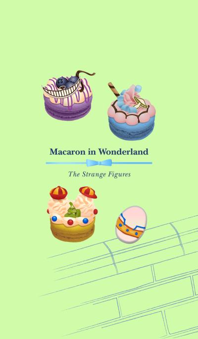 Macaron in Wonderland-Strange Figures