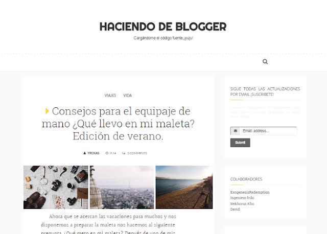 iniciativa para conocer nuevos blogs