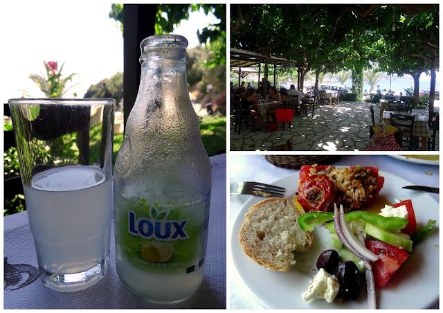 Lunch - Akrogialia Beach Bar Taverna, Lefkada