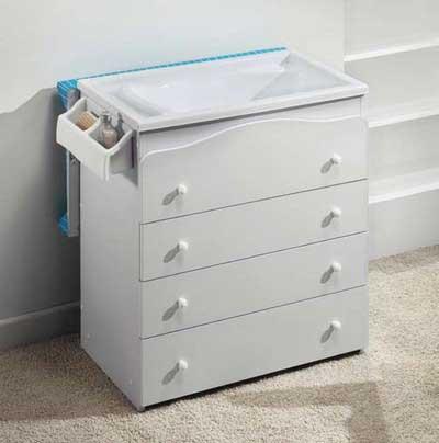 Muebles cambiadores para bebes dise os arquitect nicos for Mueble cambiador ikea