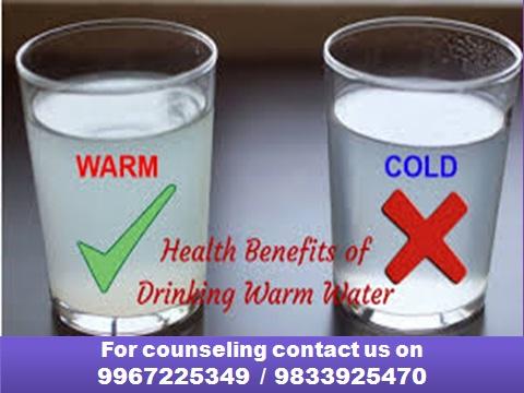 गरम पाणी पिण्याचे महत्त्वपूर्ण फायदे!