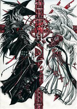Moonlight Summoner S Anime Sekai Trinity Blood トリニティ・ブラッド