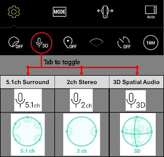 Source: LG. The LG 360 CAM now supports Spatial Audio.