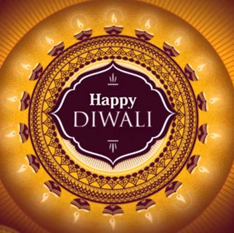 Beautiful Happy Diwali WhatsApp Dp