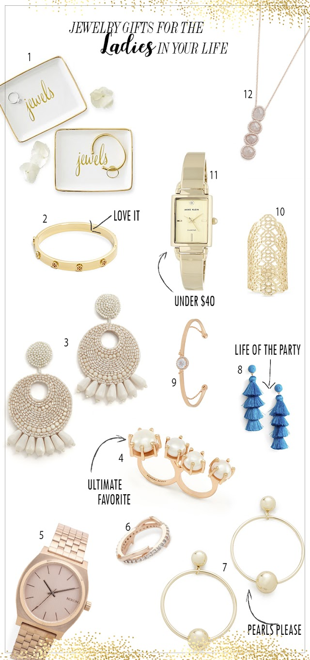 12 jewelry gift ideas for the ladies
