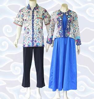 model baju batik sarimbit untuk pernikahan