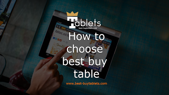 How to choose best buy table
