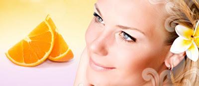 tratamento,pele,estetica,mulher,laranja