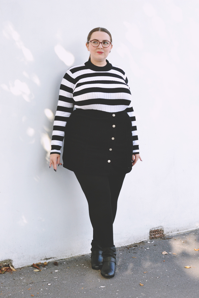 Simply Be Striped Jumper