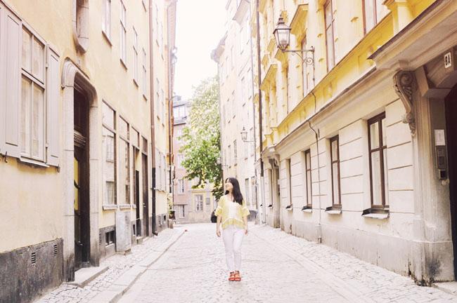 Best Stockholm Instagram Spots - Gamla Stan cobblestone street