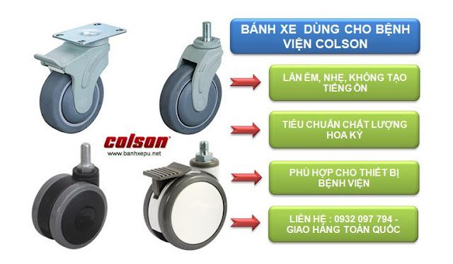 Mua bánh xe đẩy dùng cho bệnh viện Colson ở Hà Nội www.banhxepu.net