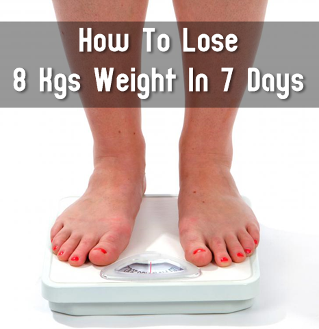 how to lose 8 kgs weight in 7 days  diy craft projects