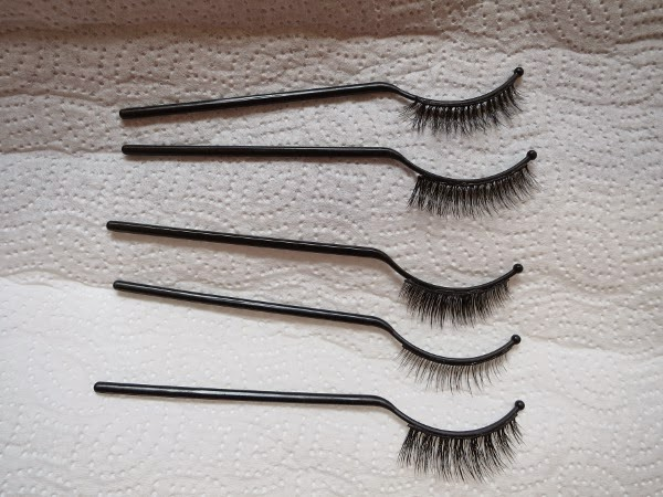 Find your perfect faux lashes