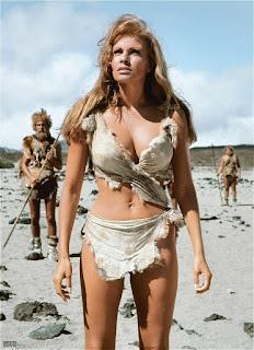 Raquel Welch One Million Years B.C. 1966 sexy cavegirl