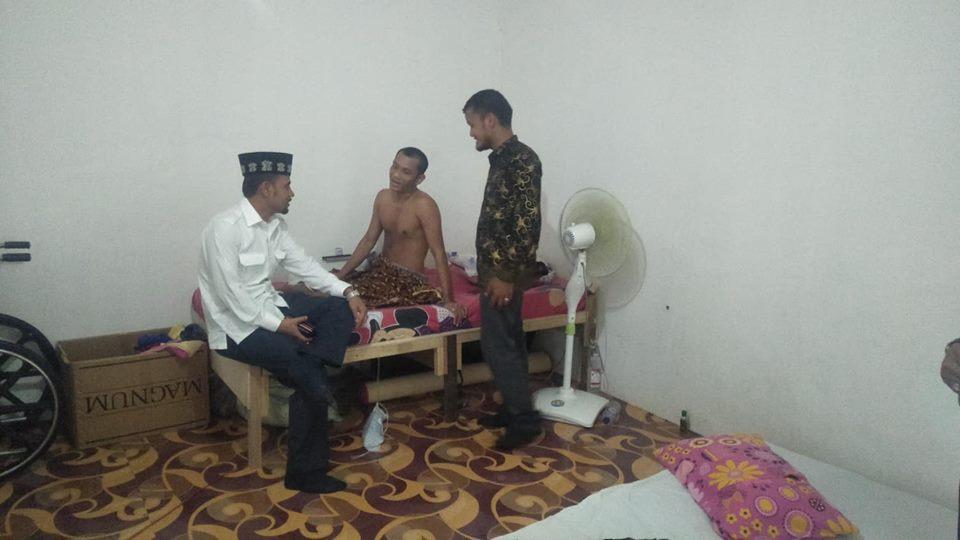 Ketua DPRA Kunjungi Rumah Sehat Lembaga Peduli Dhuafa