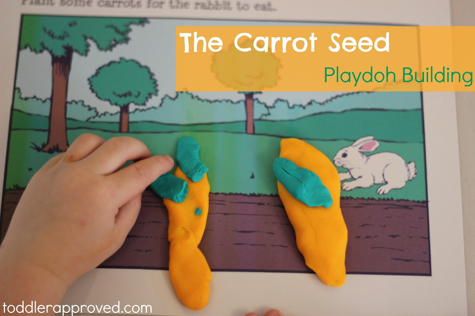 Toddler Approved The Carrot Seed Virtual Book Club