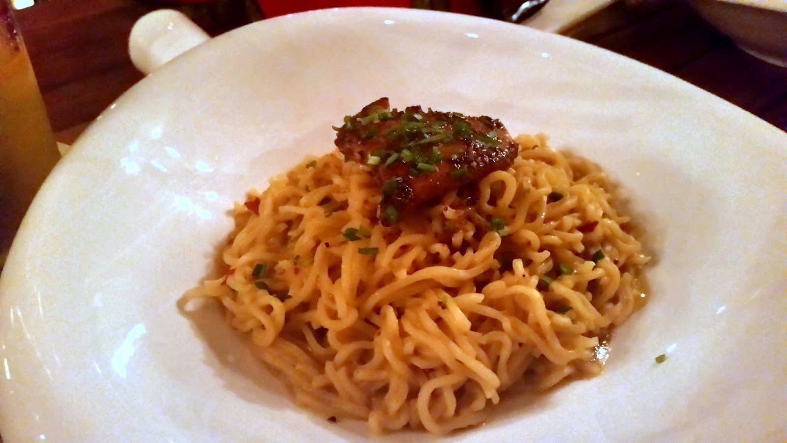 Posh Maggi with Foie Gras