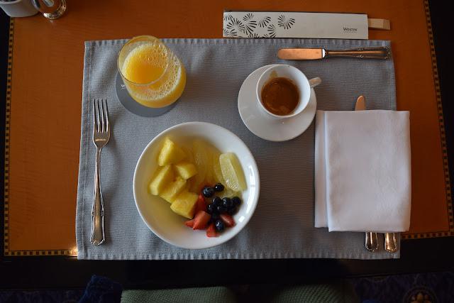 westin tokyo breakfast