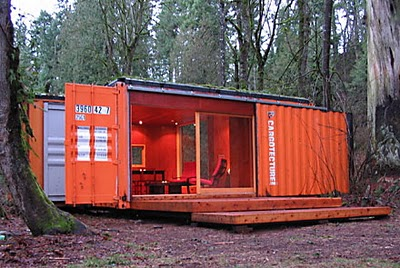 Relaxshackscom A Modern Funky Shipping Container House Cabin