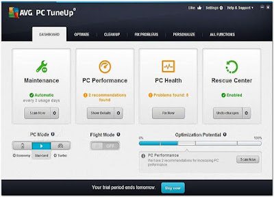 AVG PC TuneUp 2016 16.32.2.3320 Full Version