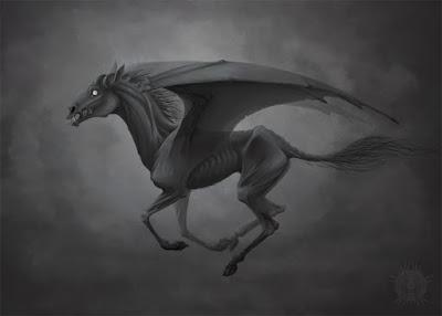 Тестрол - Хари Потър фен арт