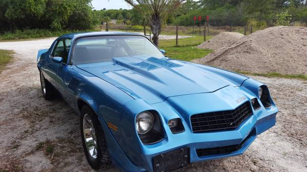 1979 Z 28 Camaro Resto Mod For Sale Muscle Car Monday