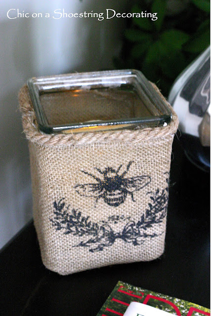 bee candle holder