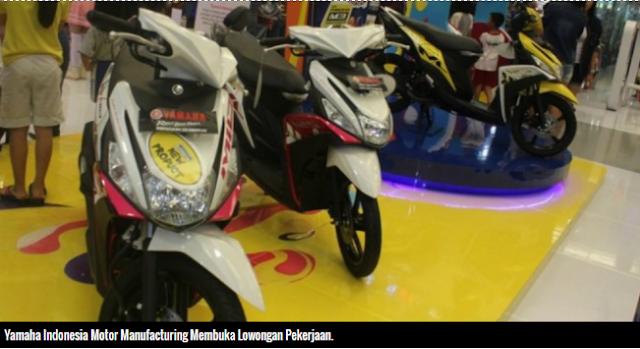 Yamaha Motor Buka Lowongan Kerja Besar-besaran