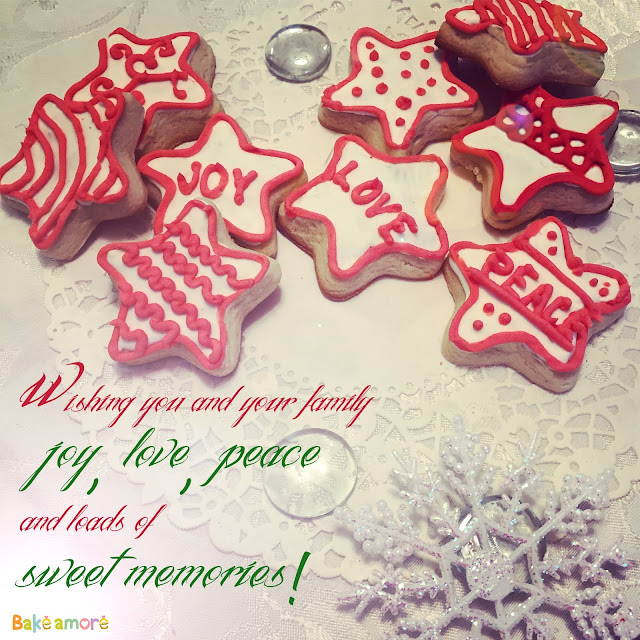 Star Christmas cookies