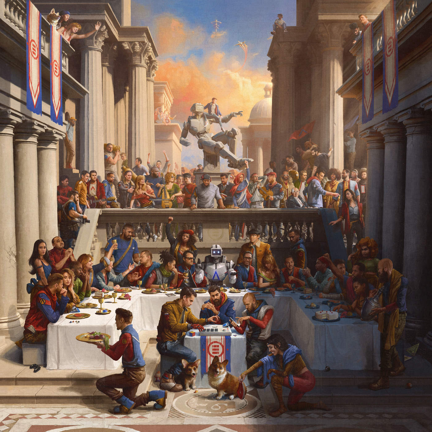 Logic - Black SpiderMan (feat. Damian Lemar Hudson) - Single Cover