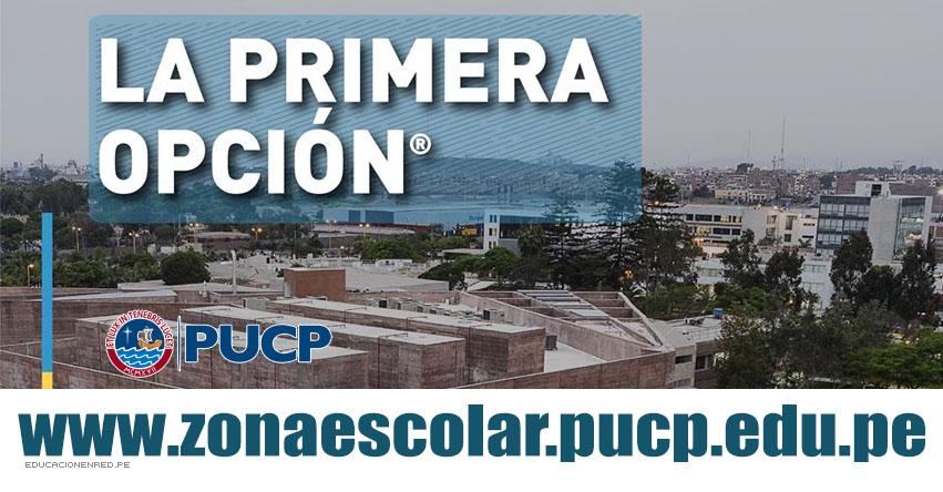 Resultados PUCP 2019 (Domingo 17 Noviembre) Zona Escolar - Examen de Admisión - Modalidad Primera Opción - Pontificia Universidad Católica del Perú - www.pucp.edu.pe