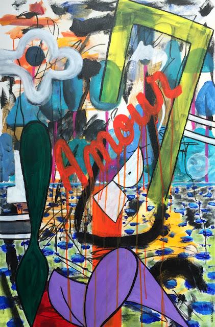 Oana-Singa-Bleeding-Love-2018-acrylic-on-canvas-36x24in